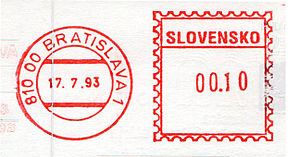 Slovakia stamp type BB1A.jpg