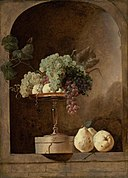 Snyders, Frans - Grapes, Peaches and Quinces in a Niche.jpg