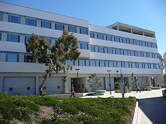 Eleanor Roosevelt College - The Social Sciences Building (SSB), located in the northern part of ERC.