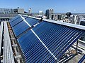 Solar water heater on top of Santos Place.jpg