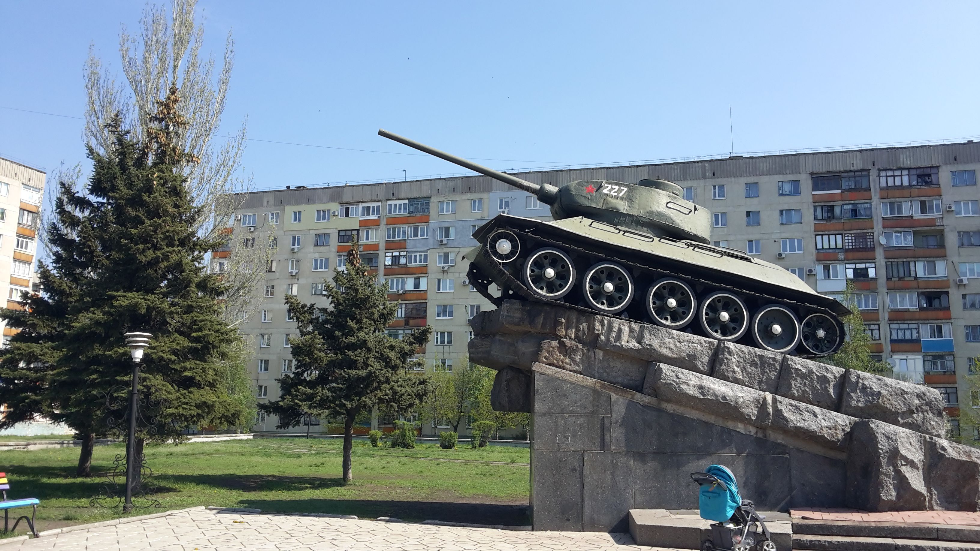 Lisichansk: a selection of sites