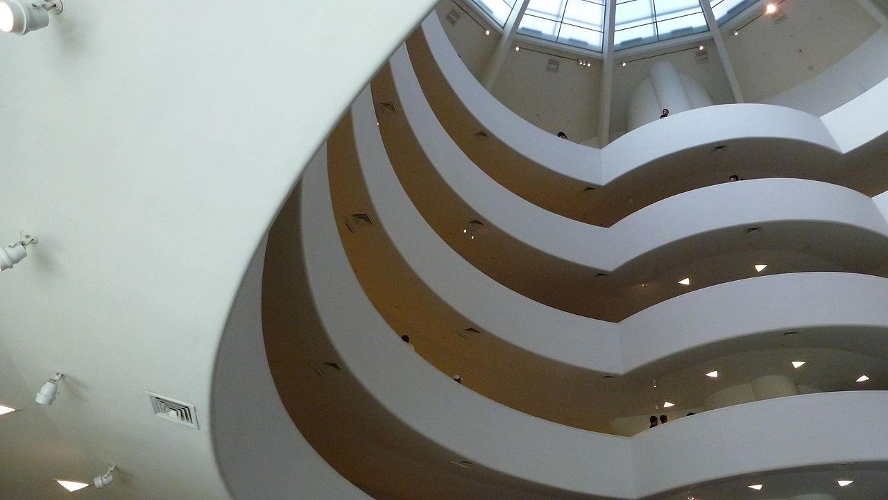 File solomon r guggenheim museum floor jpg wikimedia for Floor wikipedia