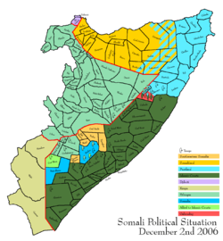 Usa hjalpte etiopiska styrkor i somalia