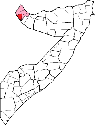 Borama District - Image: Somalia, Awdal region, Borama District