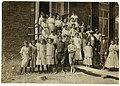 Some of the workers in the Pickett Cotton Mill, High Point, N.C., but could not get the smallest ones into the picture. LOC nclc.02693.jpg