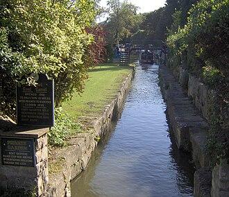 Somerset Coal Canal - Somerset Coal Canal at Dundas Aqueduct