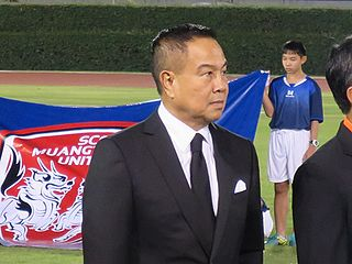 Somyot Poompanmoung Thai politician