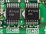 Sony VPL-HS1 - EP-GW 1-682-353-11 printed circuit board - Fairchild V08 and V14-7394.jpg