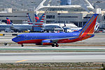 Southwest Airlines, Boeing 737-7H4(WL), N401WN - LAX (24891087549).jpg