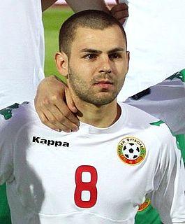 Spas Delev Bulgarian footballer