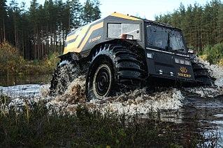 SHERP: Das angeblich weltweit beste (Amphibien-)Offroad-Fahrzeug, made in Russia
