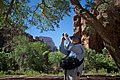 Spent a lovely day with Carl Berger on a photo walk in his backyward - Zion National Park, Utah (4704887104).jpg