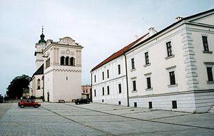 Spišská Sobota - Image: Spiska sobota kostol a radnica
