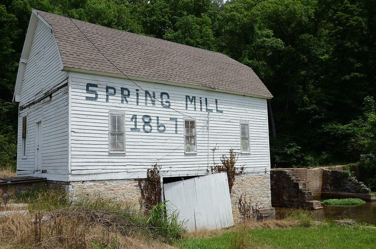 Spring Mill Batesville Arkansas Wikipedia