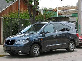 SsangYong Rodius - First generation Rodius (post-facelift)