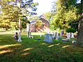 St. John's Episcopal Church, 1643, Suffolk, VA (view from north end of church yard).jpg