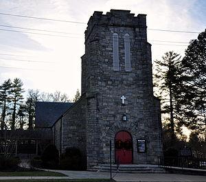 St. Philip's Episcopal Church (Brevard, North Carolina) - St. Philip's Episcopal Church in December 2013.