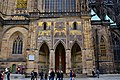 St. Vitus's Cathedral, Golden Gate, 14th century, Prague Castle (7) (26212350075).jpg