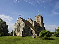 St Andrew's, Buckland from the NE.jpg