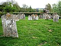 St Andrews Church, Mottisfont - Graveyard - geograph.org.uk - 422592.jpg