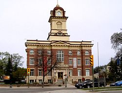 St Boniface City Hall Building