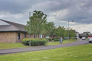 St Georges Park, Morpeth Hospital in Northumberland, England
