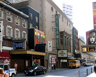 St. James Theatre - Helen Hayes Theatre (left) and St. James Theatre (right), 2007