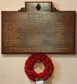 St John the Baptist, Epping - War Memorial WWII (geograph 2863601).jpg
