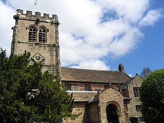 Church in Cheshire, England