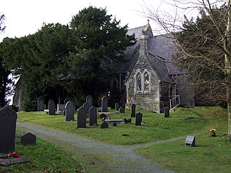Tregarth - Image: St Mary's Church geograph.org.uk 110353
