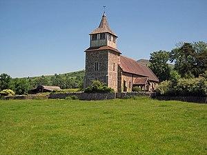 Church of St Mary, Bitterley - Church of St Mary, Bitterley