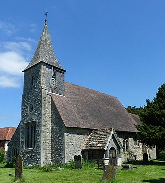 Horne, Surrey - Image: St Mary the Virgin's Church, Horne (NHLE Code 1377549)