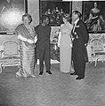 Staatsbezoek president Nyerere van Tanzania, gala-diner op Huis ten Bosch v.l.n., Bestanddeelnr 917-6734.jpg