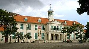 Taman Sari, Jakarta - Fatahillah Museum, the former city hall of Batavia, in Jakarta Old Town.