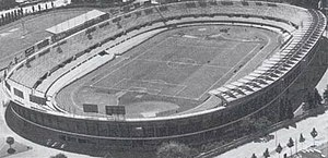 Stadio Olimpico Grande Torino - Aerial view of the Municipal stadium during the 1930s