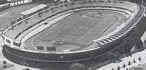 Stadio Olimpico Grande Torino - Aerial view of the Municipal stadium during the 1930s