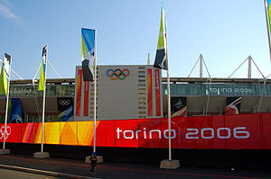 Stadio Olimpico Grande Torino - The stadium during the 2006 Winter Olympics