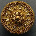 Stadtsammlung Etruscan gold ear-stud, from Etruria (Lazio), Italy, 530-480 BCE.JPG