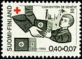 Stamp 1964 - Geneve convention - Protection of Civilian Persons in Time of War.jpg