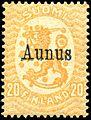 Stamp Russia occ Aunus 1919 20p.jpg