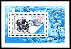 Stamps of Germany (DDR) 1988, MiNr Block 090