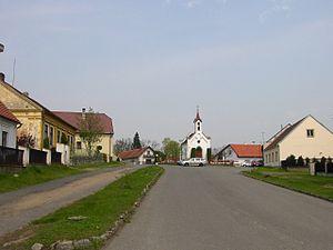 Stará Huť - Center of the village