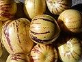 Starr-140402-0148-Solanum muricatum-fruit-Hawea Pl Olinda-Maui (25123284612).jpg