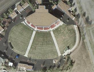 Starwood Amphitheatre - Bird's-eye view of venue c.2007