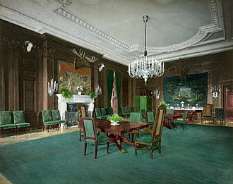 State Dining Room of the White House - State Dining Room after the 1902 renovation.
