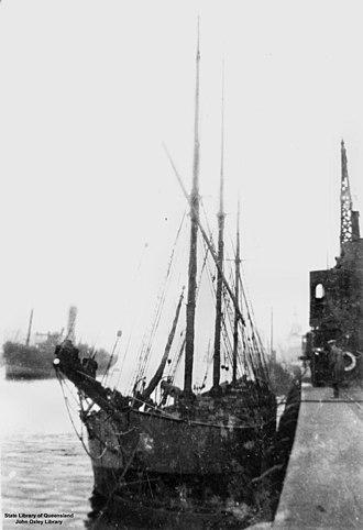 Cymric (schooner) - Image: State Lib Qld 1 145063 Cymric (ship)