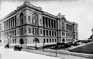 Land Administration Building - Executive Building, circa 1907