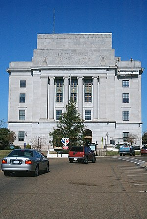United States Post Office and Courthouse (Texarkana) - Image: State Line Avenue