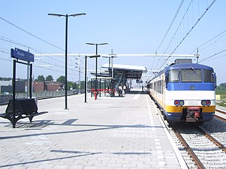 Abcoude railway station - Image: Station Abcoude 3