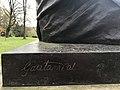 Statue of Mohandas K. Gandhi in Geneva - 6.JPG